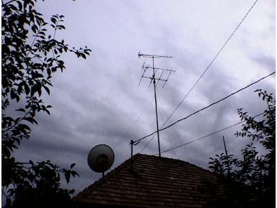 Földi + SAT-antenna-rendszer