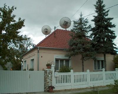 SAT-antenna-rendszer